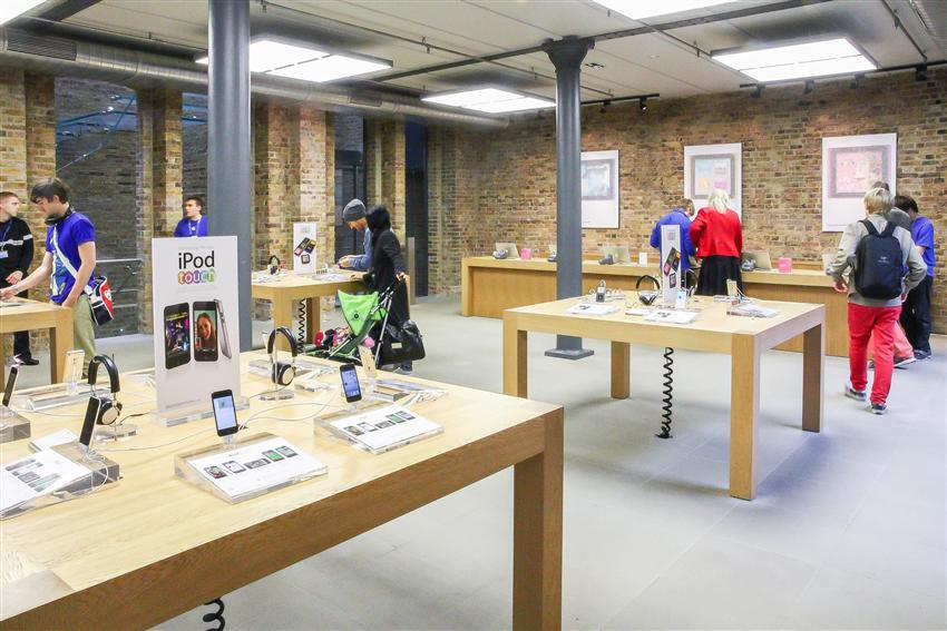 Apple Store Covent Garden - London, UK - Wittur - Safety in
