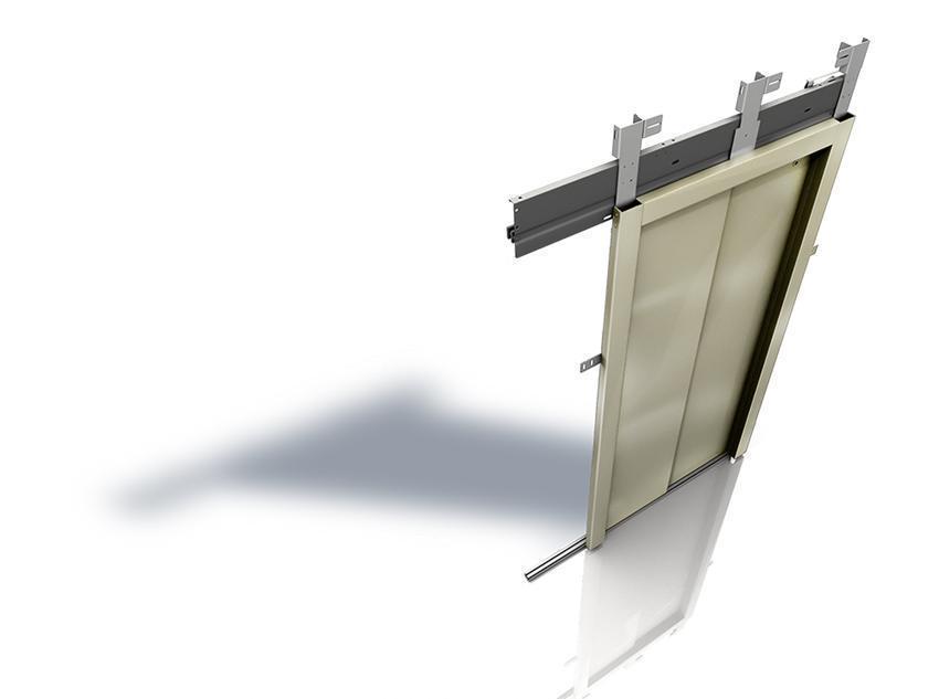 Puerta de piso fineline wittur safety in motion - Puertas de piso ...
