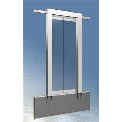 Nettuno landing door - glass panels